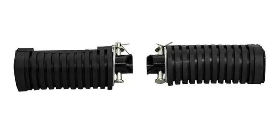 Pedaleira Traseira Completa Titan 125 / 150 Es Esd Par