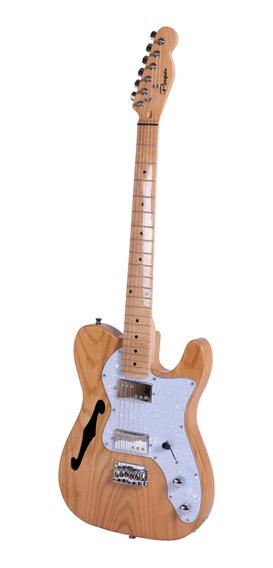 Guitarra Eléctrica Tipo Telecaster Thinline Parquer Cuota
