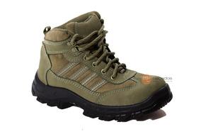 f402b40d13 Botina Bracol Nobuck Verde - Sapatos no Mercado Livre Brasil