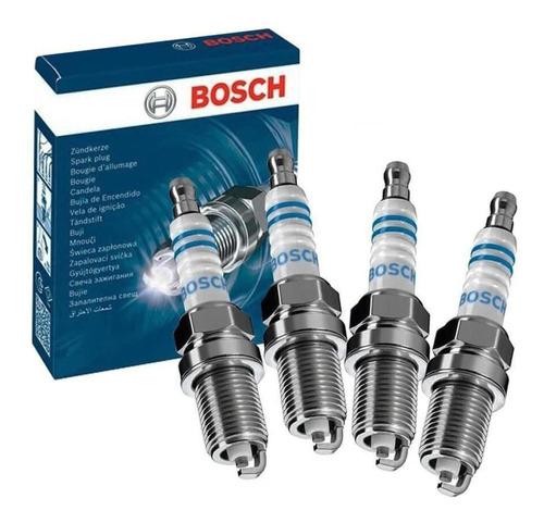 Imagem 1 de 2 de Jogo 4 Velas Iridium Bosch Hyundai Atos Prime 1.0 99 À 01