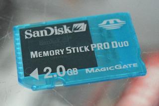 Memory Stick Pro Duo Mark2 Sony 2gb