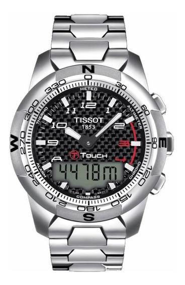 Tissot T-touch Ii Titanium T047.420.44.207.00 12x Sem Juros
