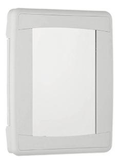 Botiquin De Plastico Para Baño Oficina Con Espejo Primeros A