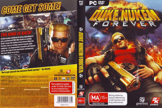 Duke Nukem Forever Pc Original | Chave Cd-key Steam |