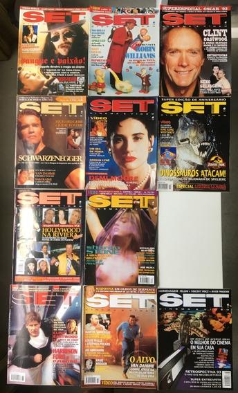 Revista Set 1993 (11 Edições) Perfeito Estado