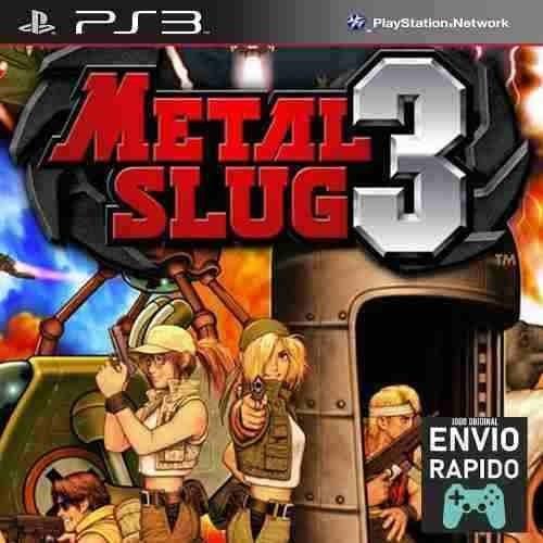 Metal Slug 3 - Jogos Ps3 Original