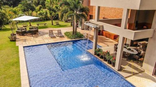 Imagem 1 de 23 de Casa Com 6 Dormitórios À Venda, 1300 M² Por R$ 11.900.000,00 - Condomínio Terras De São José Ii - Itu/sp - Ca0546