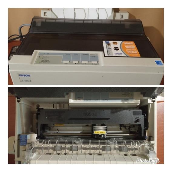 Impresora Epson Lx-300+ii Usada No Fiscal Excelente Estado