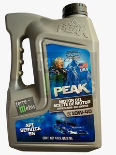 Aceite Peak 10w40 3,79l Semisintetico (eq. Durablend 4100)