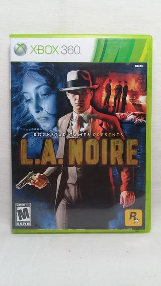 L.a. Noire Xbox 360 Original Completo
