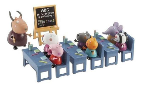 Peppa Pig Salón De Clases Playset