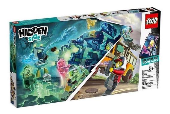 Lego Hidden Autobús De Intercepción 70423