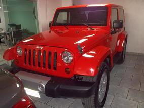 Jeep Wrangler 3.6 Sahara 4x4 At 2013 Naranja