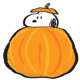 Eureka Peanuts Fall Pumpkins Paper Esculturas Fotográficas