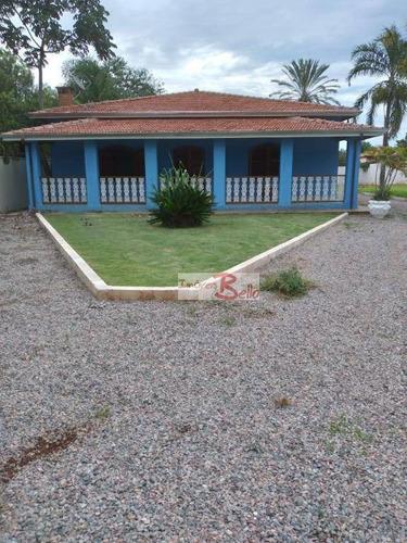 Chácara Com 2 Dormitórios À Venda, 1988 M² Por R$ 750.000,00 - Long Island - Jaguariúna/sp - Ch0038