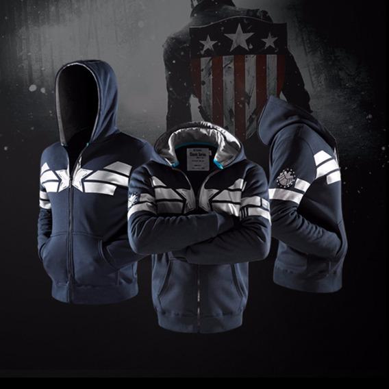 Casaca Marvel Capitán América
