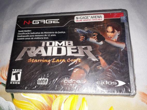 Tomb Raider Nokia N-gage Novo Lacrado