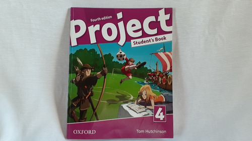 Project 4 Student's Book Tom Hutchinson  Oxford