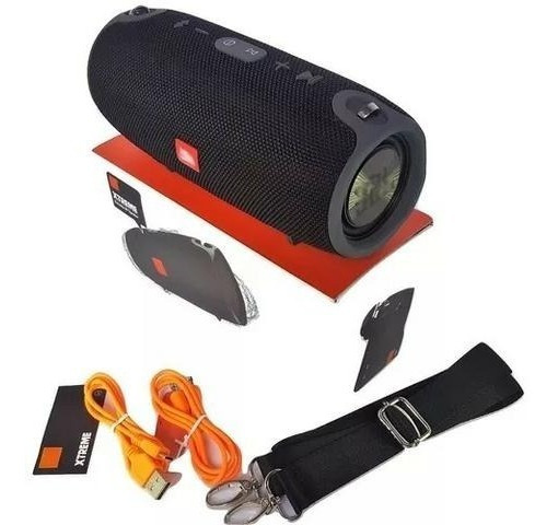 Caixa Som Bluetooth Xtreme Mini Potente 40w Rms Radio Fm