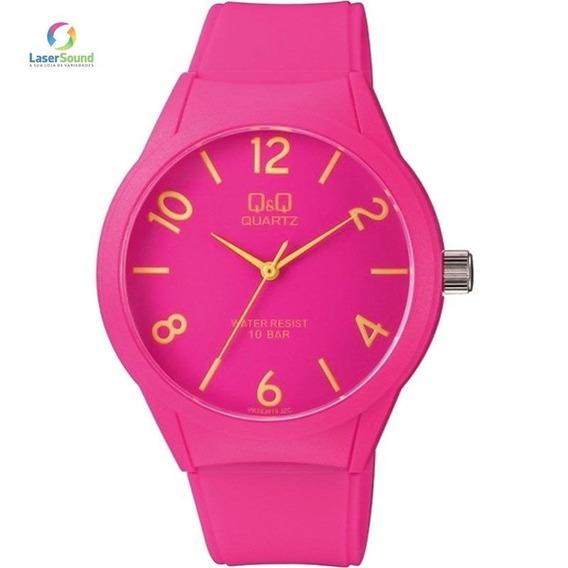 Relógio Q&q By Japan Feminino Vr28j019y Com Garantia E Nf