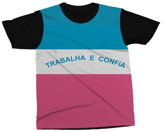 Camiseta Espírito Santo Estado Brasil Bandeira Blusa Camisa
