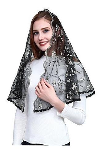 Velo Ortodoxo Bordado Cubrir La Cabeza Capilla Catolica Mant