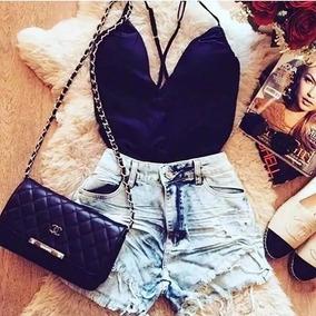 Kit Short Jeans + Body Bruna