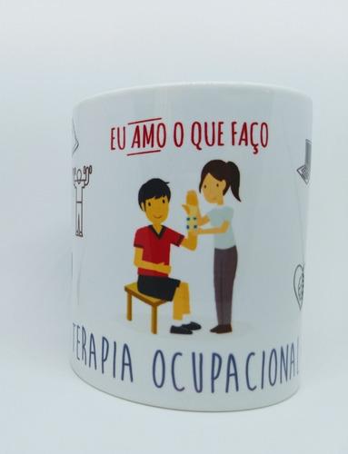 Imagem 1 de 4 de Caneca Personalizada Profissão Terapia Ocupacional Terapeuta