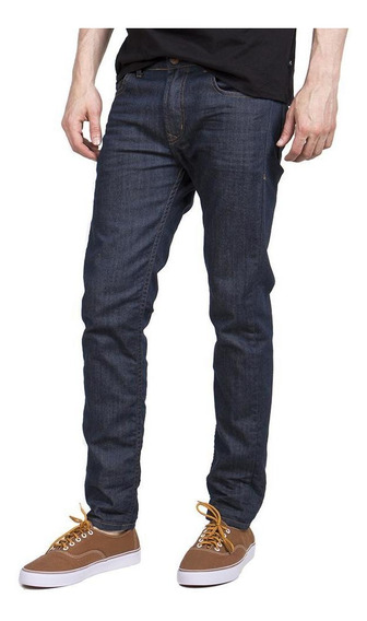 Jean Rusty Hyper Raw Azul Hombre