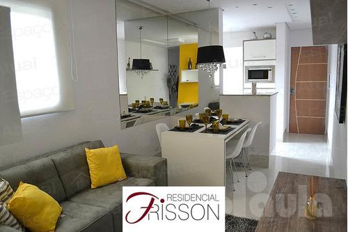 Imagem 1 de 10 de Excelente Apartamento Com 55 Metros - Parque João Ramalho -  - 1033-10777