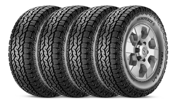 Kit 4 Pneus 255/60r18 Trail Life At 112h By Continental