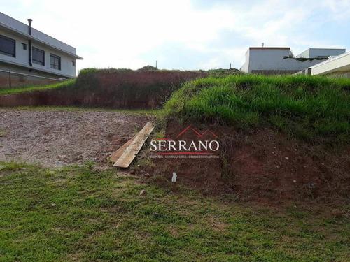 Terreno À Venda, 800 M² Por R$ 900.000,00 - Condomínio Campo De Toscana - Vinhedo/sp - Te0424