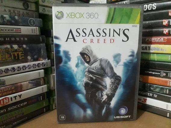 Jogo Assassins Creed 1 Xbox 360 Original Mídia Pal / Ntsc
