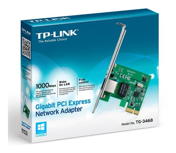 Placa De Red Pci Express Tp-link Tg-3468 Gigabit Mexx