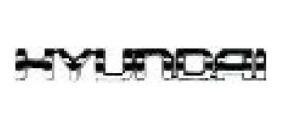 Emblema Hyundai Cromado