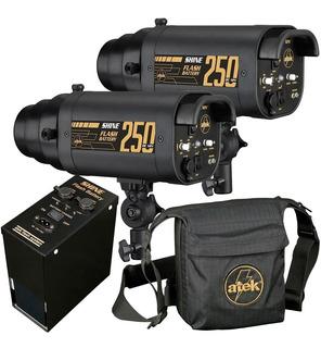 Conjunto Shine 250 + 250 - 12vdc