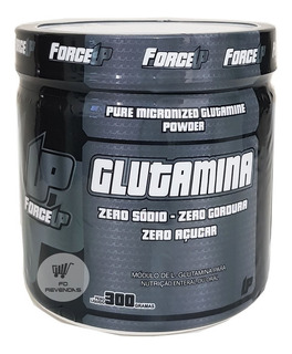 Forceup Glutamina Glutamine 300g Pure - Pronta Entrega