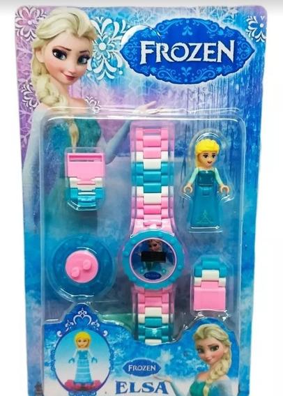 Relógio Infantil Frozen Peças Para Montar