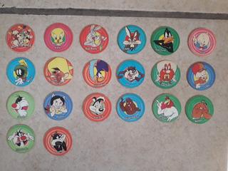 Mega Tazos Looney Tunes 1994 Colección Completa 61 Al 80
