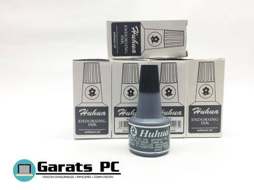 Tinta Gotero Negra Huhua 30ml X3unid
