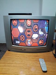 Tv Philips 20 . Excelente Estado Y Buena Imagen