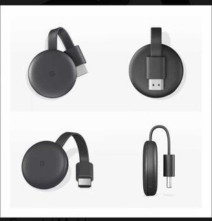 Google Chromecast Hdmi Streaming Media Player Lcd Smart