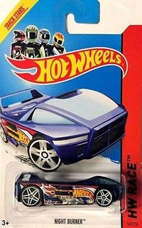 Hot Wheels T-hunt Night Burner