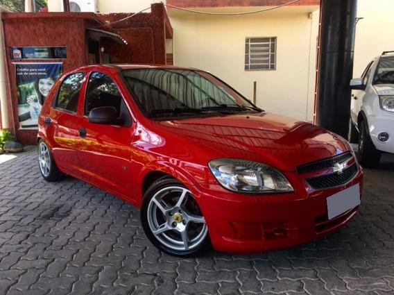 Chevrolet Celta 1.0 Mpfi Ls 8v Flex 2012 Vermelho.
