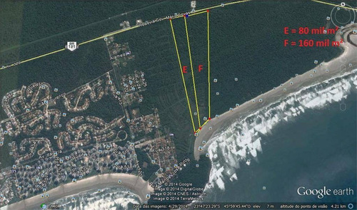 Imagem 1 de 4 de Área À Venda, 80000 M² - São Lourenço - Bertioga/sp - Ar0001