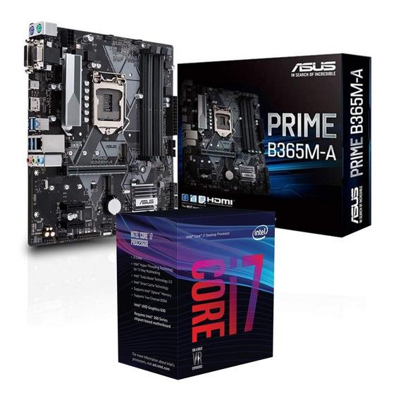 Combo Actualizacion Intel I7 9700k + Asus B365m-a Prime