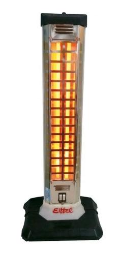 Imagen 1 de 6 de Estufa Eléctrica Vertical Cuarzo 2 Velas 1200w Calefactor