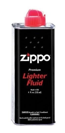 4 Fluido Zippo Premium 125 Ml + 4 Gas Ronson 301 Ml