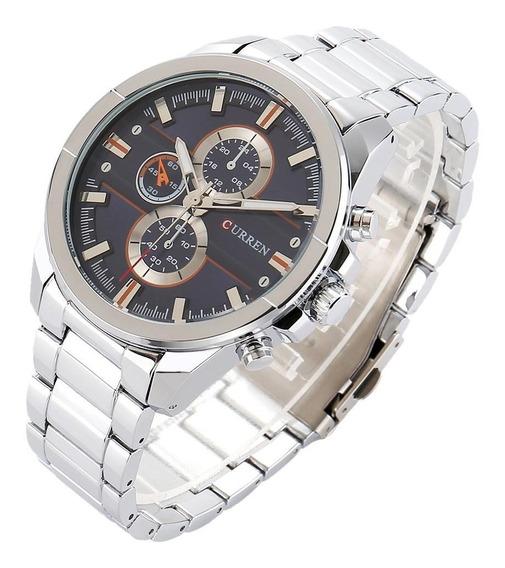 Relógio Importado Masculino Curren 8274 Pronta Entrega