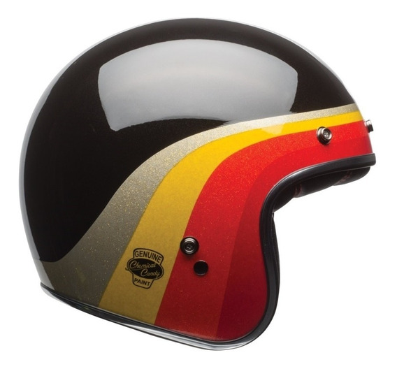 Capacete Bell Custom 500 Chemical Candy - Moto Café Racer
